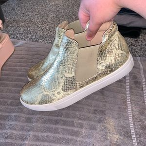 Gold Coconut Shoes